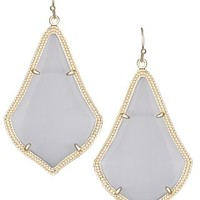 Alexandra Earrings in Slate - Kendra Scott Jewelry