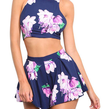 Floral Print Co-ord