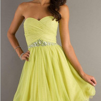 2013 Sexy Strapless Dresses Short Dress Cocktail Party Prom Ball Evening Dress