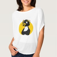 Rockhopper penguin cartoon t-shirt