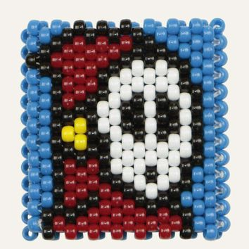 Super Mario Ghost Shy Guy Kandi Cuff