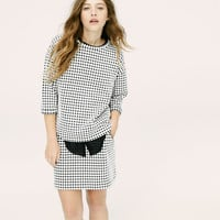 Lou & Grey Mini Windowpane Top | LOFT