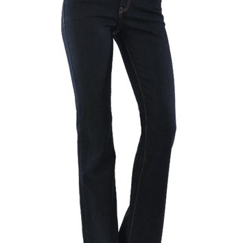Low Rise Boot Legs Stretchy Denim by Just USA Jeans