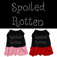 Rhinestone Dress: Spoiled Rotten