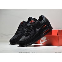NIKE AIR MAX 90 2019 new breathable mesh men's sports shoes black