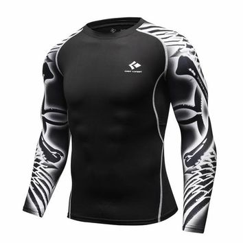 Men Compression T Shirts long sleeve