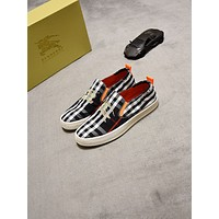 Burberry 2021Men Fashion Boots fashionable Casual leather Breathable Sneakers Running Shoes08170cc