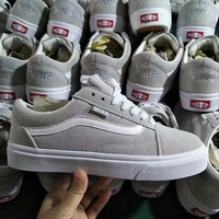 Originals Vans OLD SKOOL PRO Classic Gray White Sneaker Casual Shoes