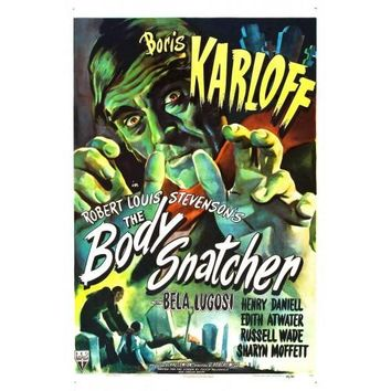 The Body Snatcher Boris Karloff Movie Poster