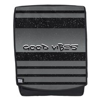 Celestial Good Vibes Striped Backpack