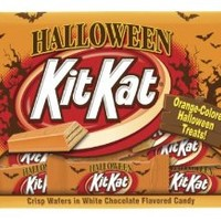 KIT KAT Halloween Orange Colored White Creme Wafer Bars (10.29 Ounce Bag, Pack of 6)