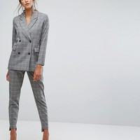 Selected Checked Blazer at asos.com