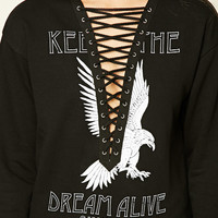 Keep The Dream Graphic Sweater