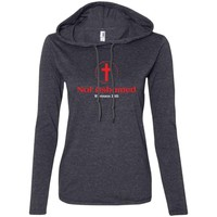 Not Ashamed Women's Christian Fitted T-Shirt Hoodie