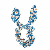 Ditsy Floral Bunny Scrunchie