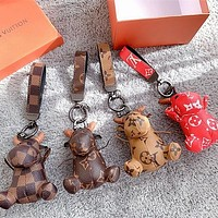 Louis Vuitton LV Charm And Key Holder-4
