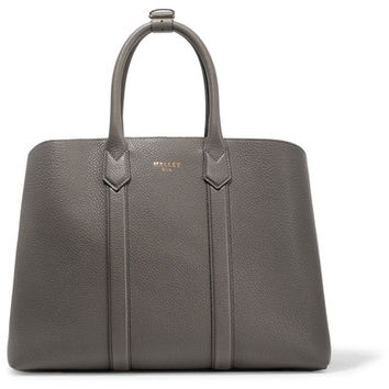 Mallet & Co - Hanbury textured-leather tote