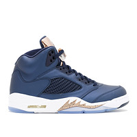 "AIR JORDAN 5 RETRO ""BRONZE""  BASKETBALL SNEAKER"