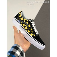 Vans old skool pro cheap mens and womens Fashion Canvas Flats Sneakers Sport Shoes