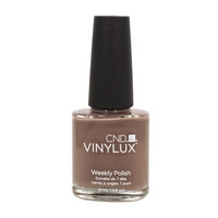 CND VINYLUX Weekly Nail Polish RUBBLE Beige Brown #144