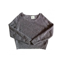 Brown pullover ACNE Brown