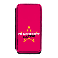Celebrity Hater Premium Faux PU Leather Case for iPhone 5C by Chargrilled