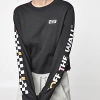 Vans Flipside Long Sleeve T-Shirt at PacSun.com - black | PacSun