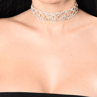 Take Me Out Tonight Choker - Gold