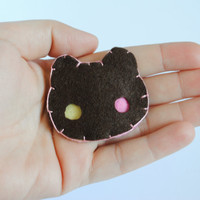 Cookie Cat Hair Clip