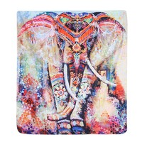 Indian Elephant Tapestry Hippie Wall Hanging Fabric Poster