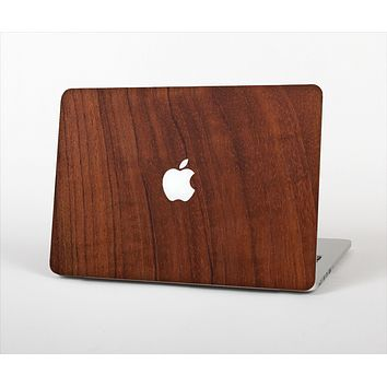 """The Raw Wood Grain Texture Skin Set for the Apple MacBook Pro 13"""""""