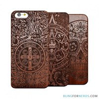 Carved Wood Case - iPhone 6