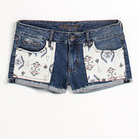 Pieced Pocket Single Rolled Shorts