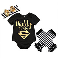 Superman Baby Girls Clothes