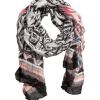 Crinkle scarf - from H&M
