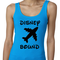 Disney Bound Disney Vacation Disney Trip Out Exercise Tank Regular Back Multi Colors Available Womens T-Shirt