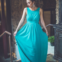 Love Is In The Air Maxi in Teal