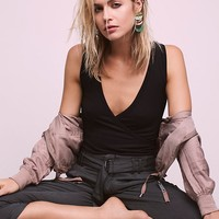Free People Muscle Surplice Cami