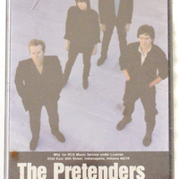 Vintage 80s The Pretenders Learning to Crawl Album Cassette Tape