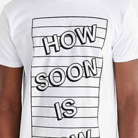 D.U.D.S. How Soon Is Now Tee- White