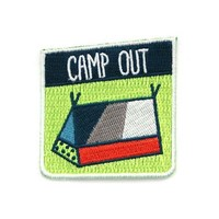 Camp Out Patch