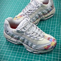 Nike Air Max 95 Grey Confetti Womens | 918413-004 Sport Running Shoes - Best Online Sale