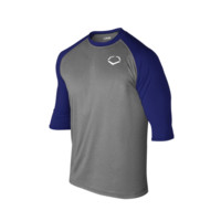 EvoShield 3/4 Performance Shirt Captain's Logo