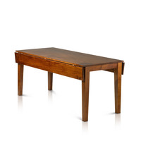 Drop Leaf Rectangle Solid Maple Table