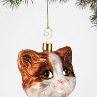 Cat-Head Ornament - Urban Outfitters