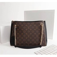 lv louis vuitton women leather shoulder bags satchel tote bag handbag shopping leather tote crossbody 102