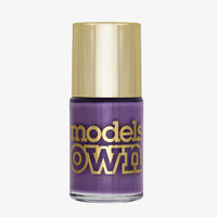 Models Own Pear Purple Nail Polish (Diamond Luxe Collection)