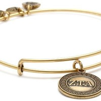 Alex and Ani Sorority Zeta Tau Alpha Expandable Rafaelian Wire Bangle Bracelet
