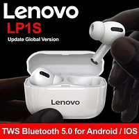 Lenovo LP1S TWS Bluetooth Earphone Sports Wireless Headset Stereo Earbuds HiFi Music With Mic LP1 S For Android IOS Smartphone