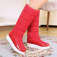 Winter Knee High Boots Snow Boots Platform Shoes Woman 3275 3275